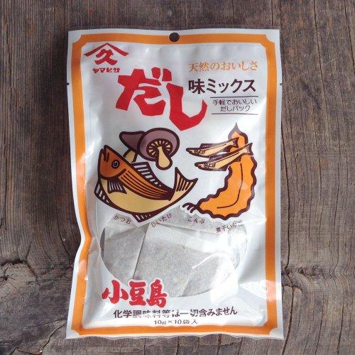 ヤマヒサ / 味ミックスだし(だしパック) 100g(10g×10袋)