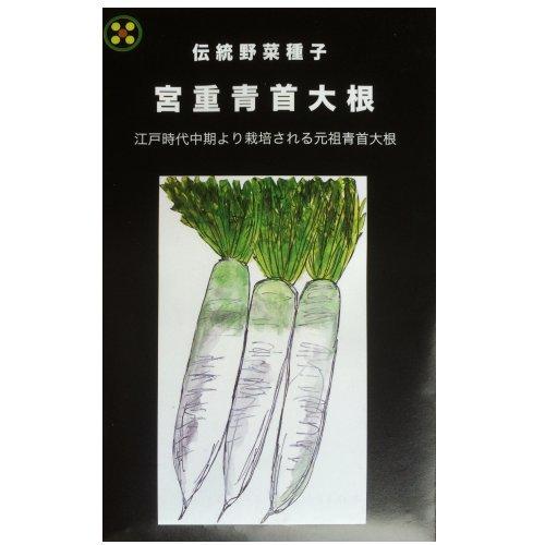 浜名農園 / 伝統野菜種子 宮重青首大根