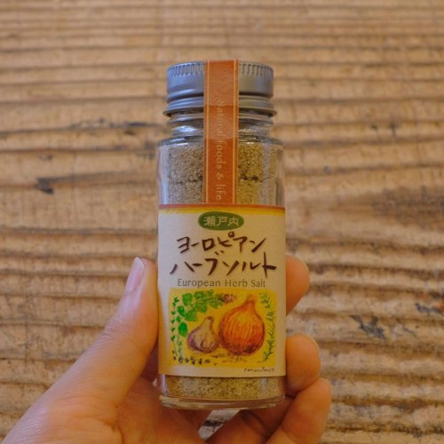 Inori / ヨーロピアンハーブソルト(瓶) 45g