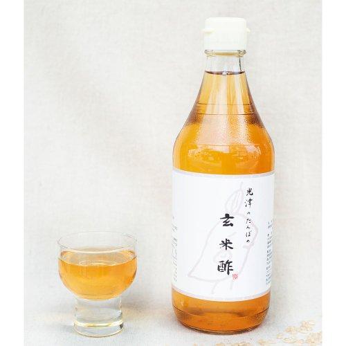 コマリファーム*。 / 光津のたんぼの 玄米酢 500ml
