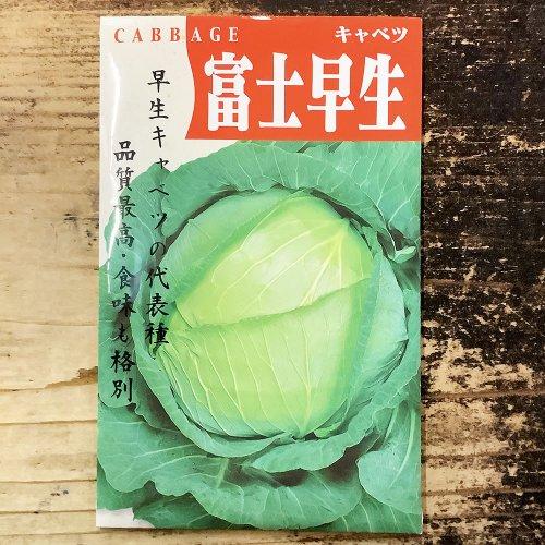 浜名農園 / 伝統野菜種子 キャベツ 富士早生