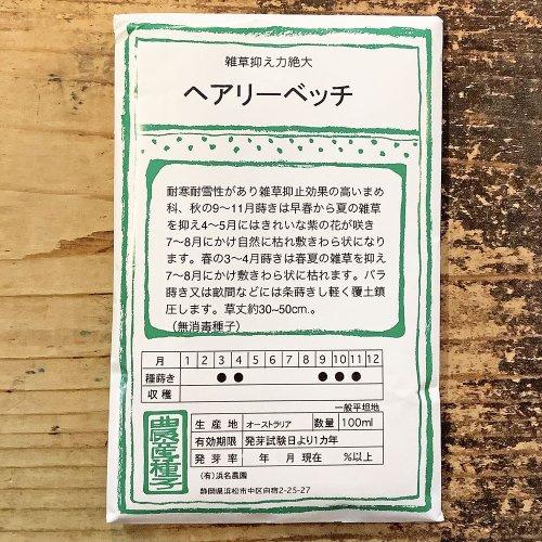 浜名農園 / 伝統野菜種子 ヘアリーベッチ