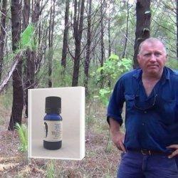 【期間限定7月31日迄:アロマボール付】アボリジニの伝承 特許取得蒸留法で48時間抽出 (KAKADU BLUE)深みある森の香り 真正ブルーサイプレス精油(メール便可)2019年3月産 10ml