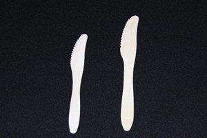 木のナイフ(大)100本