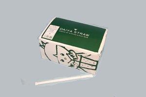 ダイヤストロー フレックスタイプ 4色筋混合 <br/>紙ケース入 1箱(400本)