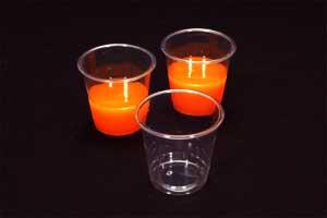 透明 プラスチックカップ<br/>2オンス (60cc) 100個