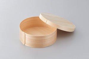 木製 わっぱ 130φ 被せ蓋付き 10個