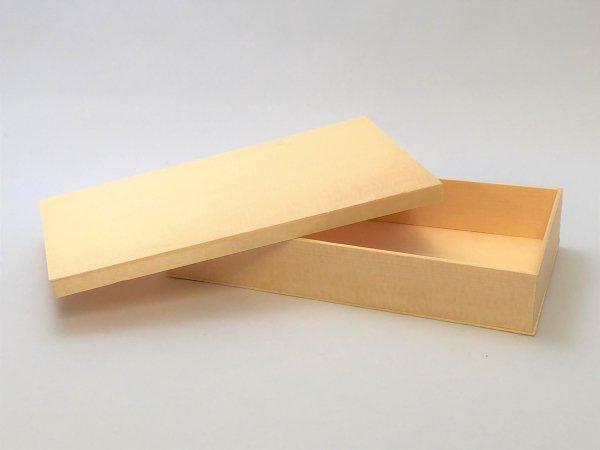 折箱7寸浅 かぶせ蓋<br>外寸185×105×30mm<br>20個セット