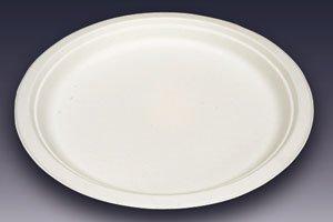 (紙皿)モールド丸皿<br/>MM−4 φ18cm<br/>50枚