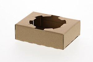 (Dカップホルダー)<br>L1ヶ用クラフト<br>1袋50枚 1ケース200枚