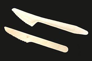 木製ナイフ(小)<br>♯140 単袋100本<br>1ケース3000本