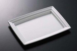 (万能皿)<br/>CT沙楽K23-23白<br/>本体・蓋セット 50枚
