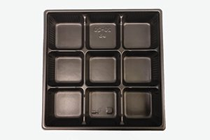 (万能容器)SDキャセロ<br>20-20 9S<br>本体・透明高蓋セット<br>300枚 (色柄ホワイト・ブラックの二種類からお選び下さい)