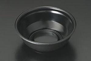 (どんぶり)<br>丼170 黒耐熱<br>本体蓋セット 900枚