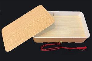 鯛折(杉柄) 房付き 255×157×H55mm 10個入