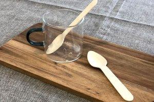 木製スプーン11cm 透明袋入<br>100本