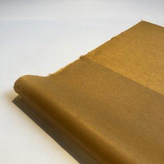 【桐生和紙】染め紙(からし色)