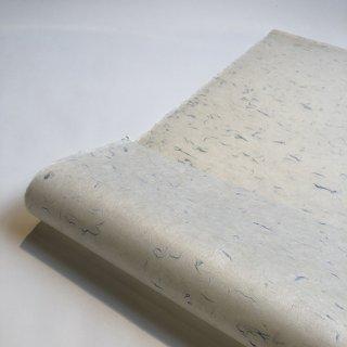 【桐生和紙】漉き込み紙(そらいろ:青)
