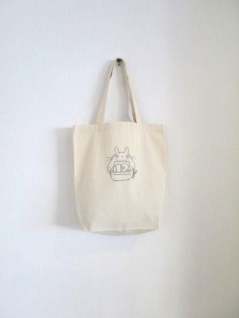 誕生月トトロのトートバッグ (12月)