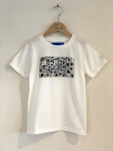 くろすけスタンプTシャツ/土間 (小人)