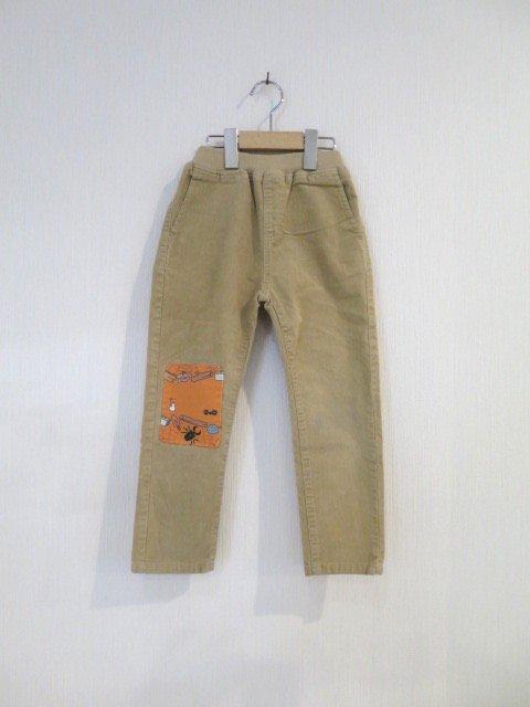 トトロ手縫いのパンツ (1点もの/サイズ110)