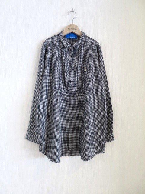 トトロ手刺繍シャツ (1点もの/サイズ大人)