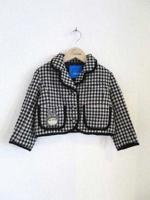 トトロ手刺繍ジャケット (1点もの/サイズ100)