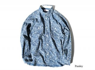<img class='new_mark_img1' src='https://img.shop-pro.jp/img/new/icons50.gif' style='border:none;display:inline;margin:0px;padding:0px;width:auto;' />HARVEST SHIRT -PAISLEY-