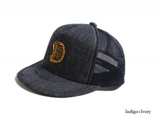 <img class='new_mark_img1' src='https://img.shop-pro.jp/img/new/icons1.gif' style='border:none;display:inline;margin:0px;padding:0px;width:auto;' />DIRT DENIM CHIEF TRACKER CAP
