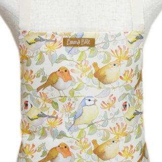 <br>Emma Ball 【EBCA699】<br>Apron エプロン<br>Birds & Honeysuckle