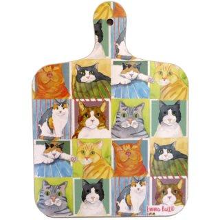 <b>別注品</b><br>Emma Ball 【EBMCB10】<br>Mini Chopping Board<br>ミニチョッピングボード<br>British Cat Life