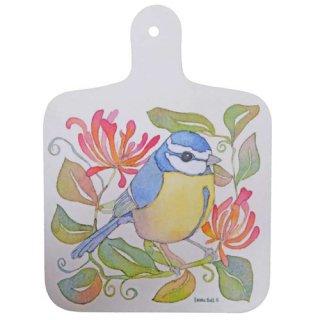 <br>Emma Ball 【EBMCB08】<br>Mini Chopping Board<br>ミニチョッピングボード<br>Birds & Honeysuckle