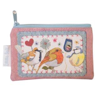<br>Emma Ball 【EBSP57】<br>Purse 財布<br>Stitched Birdies