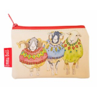 <br>Emma Ball 【EBSP55】<br>Purse 財布<br>Sheep in Sweaters