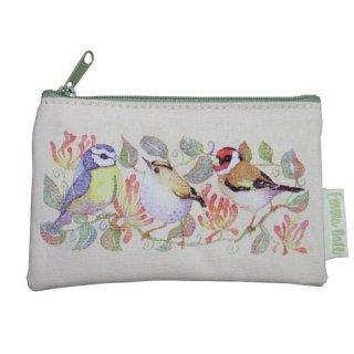 <br>Emma Ball 【EBSP51】<br>Purse 財布<br>Birds & Honeysuckle