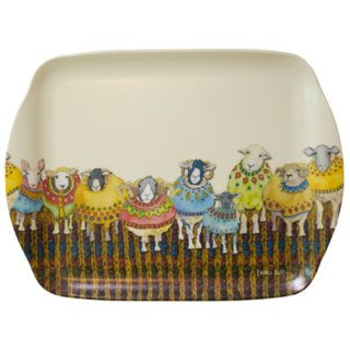<br>Emma Ball 【EBMSC70】<br>Small Tray トレイ<br>Sheep in Sweaters
