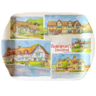 <br>Emma Ball 【EBMSC65】<br>Small Tray トレイ<br>Shakespeare Collage