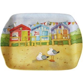 <br>Emma Ball 【EBMSC58】<br>Small Tray トレイ<br>A Day at the Seaside