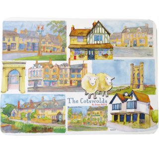 <br>Emma Ball 【EBTM03】<br>Table Mat テーブルマット<br>Cotswolds