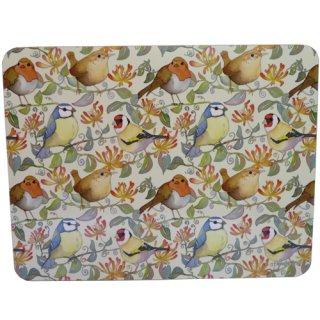<br>Emma Ball 【EBLTM07】<br>Large Table Mat テーブルマット<br>Birds & Honeysuckle