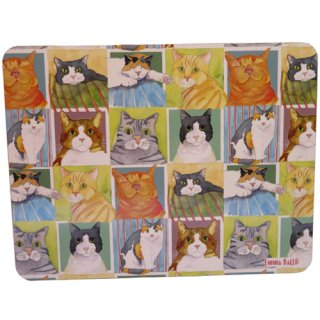 <b>オックスフォードタイム別注品</b><br>Emma Ball 【EBLTM08】<br>Large Table Mat テーブルマット<br>British Cat Life