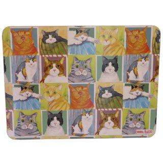 <b>オックスフォードタイム別注品</b><br>Emma Ball 【EBTM06】<br>Table Mat テーブルマット<br>British Cat Life