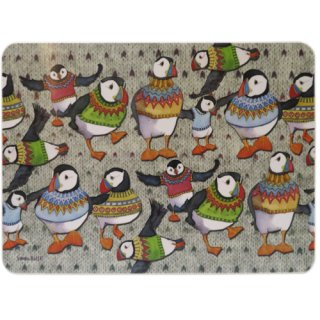 <br>Emma Ball 【EBTM69】<br>Table Mat テーブルマット<br>Woolly Puffins