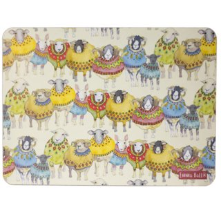 <br>Emma Ball 【EBTM70】<br>Table Mat テーブルマット<br>Sheep in Sweaters