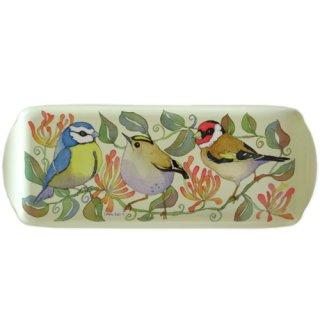 <br>Emma Ball 【EBMSW60】<br>Sandwich Tray トレイ<br>Birds & Honeysuckle