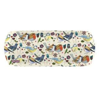 <br>Emma Ball 【EBMSW72】<br>Sandwich Tray トレイ<br>Stitched Birdies