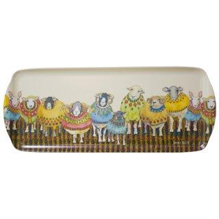 <br>Emma Ball 【EBMSW70】<br>Sandwich Tray トレイ<br>Sheep in Sweaters