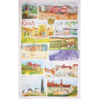 <br>Emma Ball 【EBTT10】<br>Tea Towel ティータオル 100% コットン<br>Kent