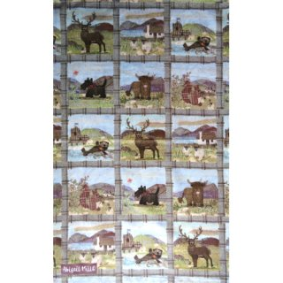 <br>Abigail Mill 【EBTT47】<br>Tea Towel <br>ティータオル 100% コットン<br>Tweedies