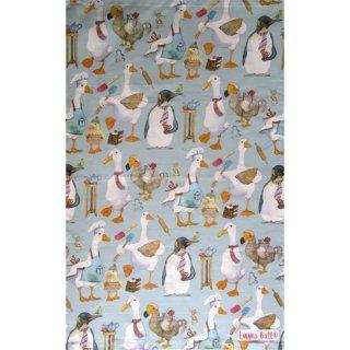 <br>Emma Ball 【EBTT49】<br>Tea Towel ティータオル 100% コットン<br>Animal Magic